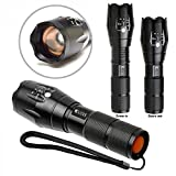 Clicks Brightest LED Torch (10 Watt ,1000 lumens)