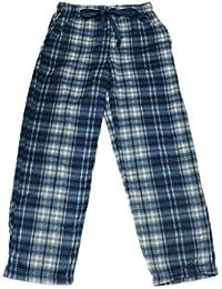 Mens Cozy Polar Fleece Pajama Pants Very Soft Touch W/2 Front Pockets