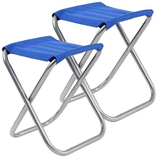 Miadomodo Anglersessel Campingstuhl Klappstuhl in verschiedenen Farben und Setwahl belastbar bis ca. 100 kg