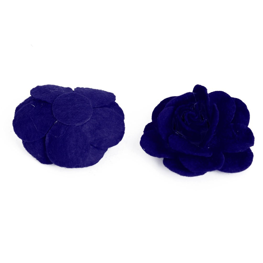Amazon.com: eDealMax Traje de Novia Accesorios decorativa de la Flor de Rose Heads 5 PCS Azul Oscuro: Home & Kitchen