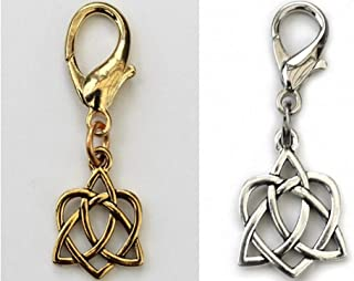 product image for Diva-Dog 'Celtic Heart' Dog Collar Charm