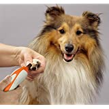 Pet Nail Grinder, Dog Cat Paw Trimmer Clipper,Trimming, Shaping, and Smoothing Tool with 6 Sanding Bands for Dogs Cats and Other Small & Medium Pets