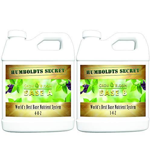 World's Best Base Nutrient System: Humboldts Secret Base A & B Bundle...