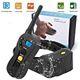 Cheap Dog Training Collar 600 yd Remote Waterproof Rechargeable Control Training Collar Beep Vibration Electric Shock E-Collar (10-100Lbs)