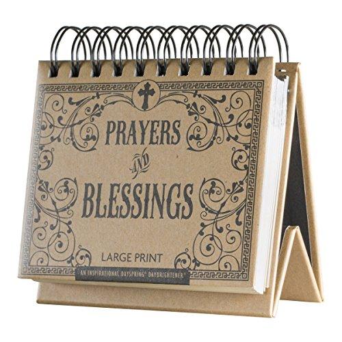 DaySpring Prayers and Blessings, DayBrightener Perpetual Flip Calendar, 366 Days of Inspiration (34832)