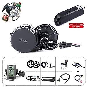 51eCY4iIF7L. SS300 Bafang Kit Bici elettrica Motore Centrale BBS02B 48V 750W Kit di conversione Kit componenti Accessori Display o Kit con…