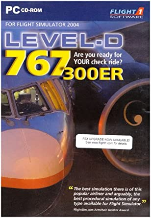 Level-D 767 SE Add-On for FS 2004 (PC CD): Amazon co uk: PC