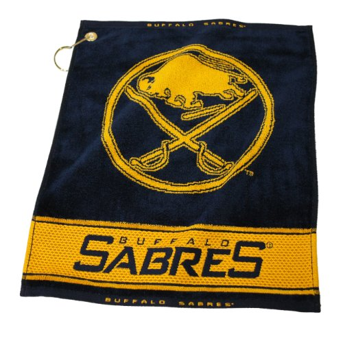 Buffalo Sabres Bag - Team Golf NHL Buffalo Sabres Jacquard Woven Golf Towel, 16