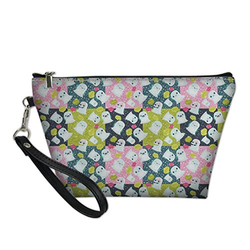 HUGS IDEA - Bolso de asas para mujer verde Dentist2 S Cartoon Ghosts