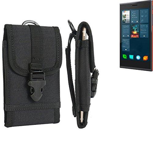 bolsa del cinturón / funda para Jolla Jolla, negro | caja del teléfono cubierta protectora bolso - K-S-Trade (TM)