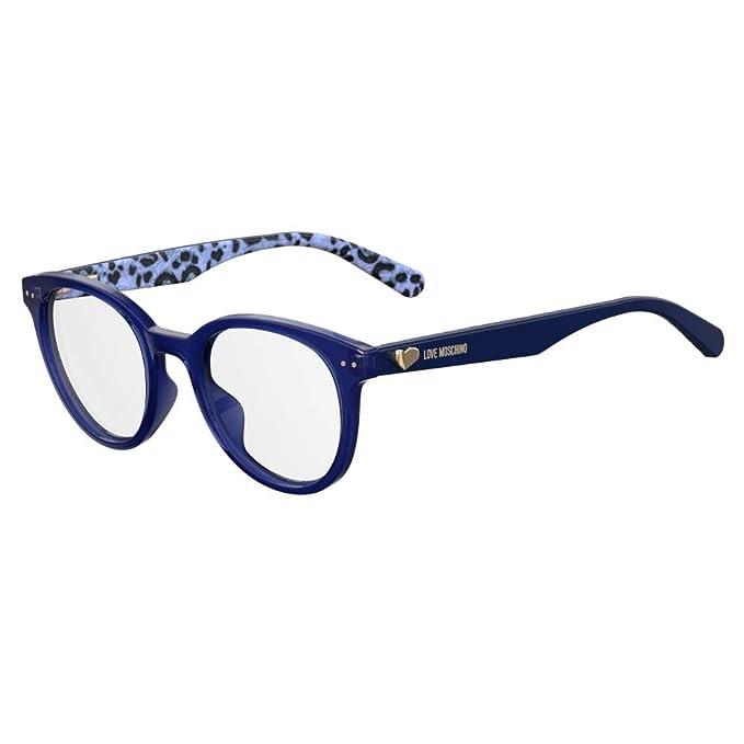 trova il prezzo più basso stili di moda offrire Occhiali da Vista love moschino donna blue MOL518 PJP 49-21 ...