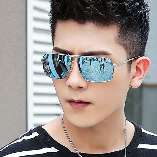 1 Color 3 De Gafa Deporte YQQ Sol Conducción De Vidrios Gafas de Reflejante Hombre sol Anti Polarizados HD Anti Gafas UV Moda Gafas De wXXI1qgB