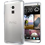 Hyperion HTC One Max T6 TPU Case and Screen Protector (Compatible with all US and International HTC One Max Phones) **Hyperion Retail Packaging** [2 YEAR NO HASSLE Warranty] - FROST/CLEAR