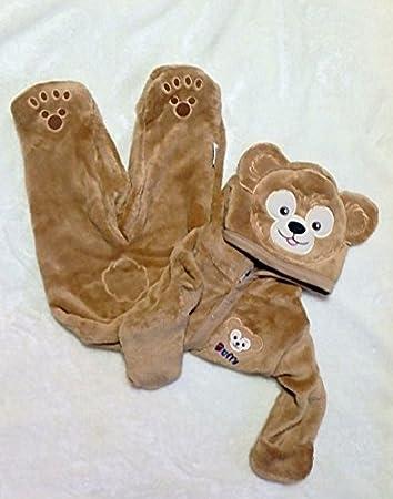 海外ディズニーランド公式商品 Duffy ダッフィー 出産祝いにも 着ぐるみ なりきダッフィー カバーオール (