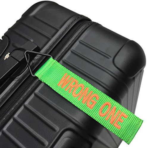 Tude Tag Luggage Tag - WRONG ONE (GREEN/ORANGE)