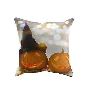 charmsamx - Funda de cojín Decorativa para Halloween, 45,7 x ...