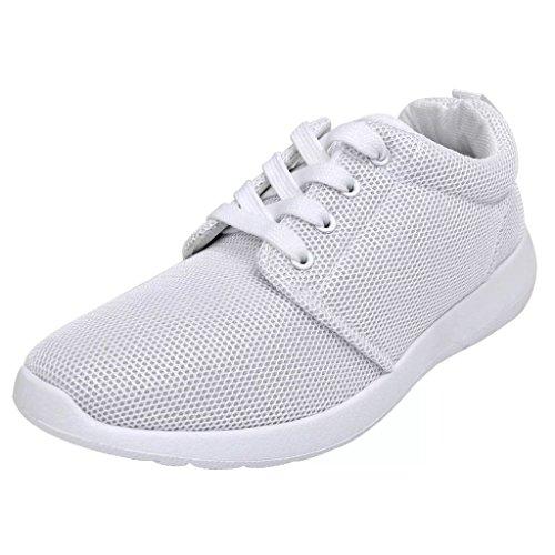 De À Running Pour Blanches Taille Sport 39 Femme Vidaxl Chaussures Lacets Course 5qwntT84
