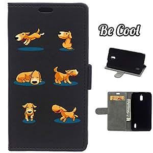 BeCool® - Funda carcasa tipo Libro para Huawei Y625 protege tu Smartphone ya que se adapta a la perfección, tiene Función Soporte, ranuras para tus tarjetas y billetes sin olvidar nuestro exclusivo diseño
