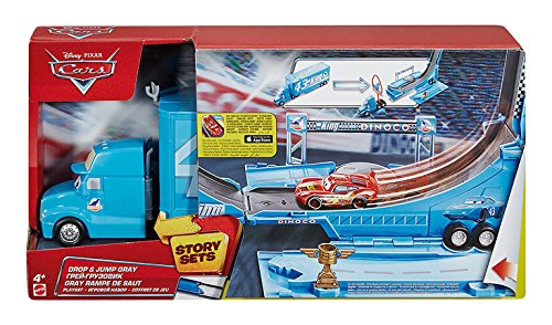 Disney/Pixar Cars Drop and Jump Gray Playset