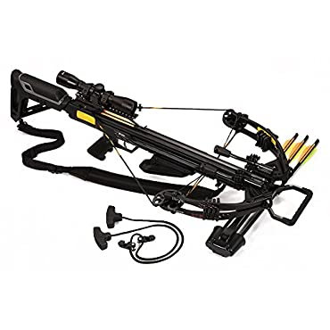 Bruin Ambush 370 Crossbow Package w/Scope, Bolts, Quiver and Cocking Rope