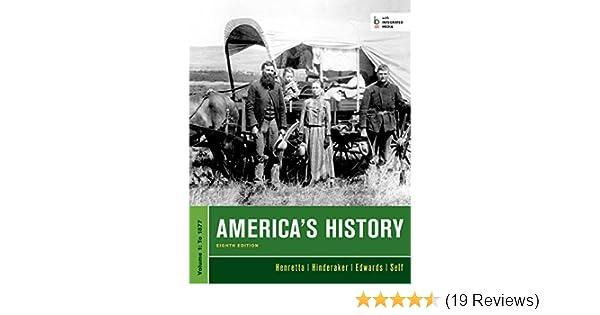 Amazon americas history volume i 1 ebook james a henretta amazon americas history volume i 1 ebook james a henretta eric hinderaker rebecca edwards robert o self kindle store fandeluxe Gallery