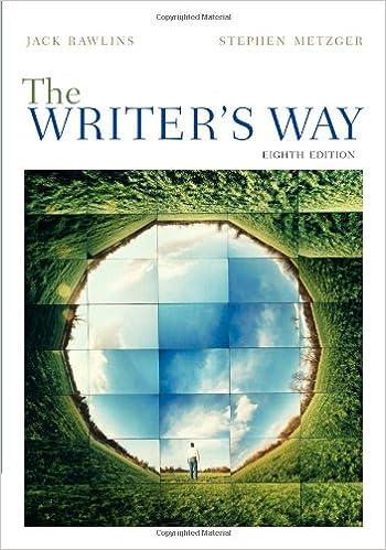 the writer's way 9th edition pdf