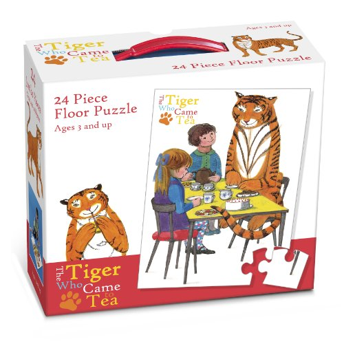 Price comparison product image The Tiger Who Came For Tea - 24 Piece FLOOR Puzzle (Dispatched from UK)