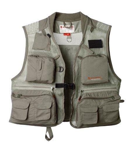 Redington First Run Fishing Vest, Grit, Large/X-Large