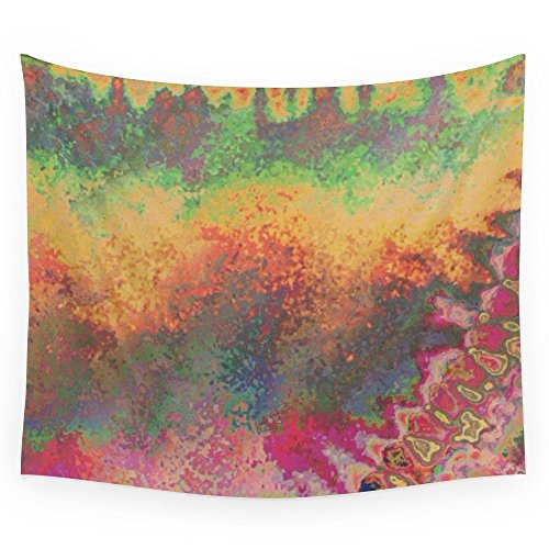"""Society6 Abstract Experiment #2 Wall Tapestry Small: 51"""" x"""