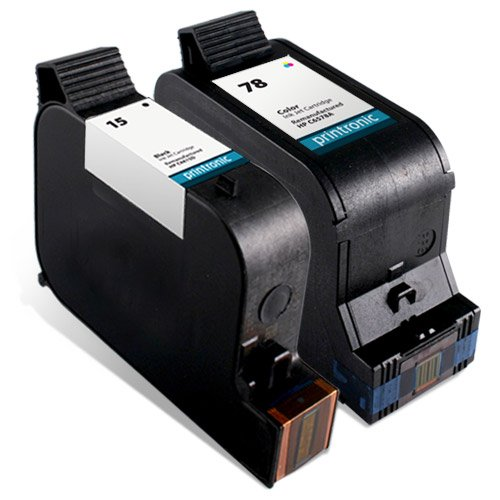 Remanufactured Ink Cartridge Replacement for HP 15 C6615D...