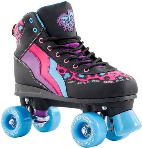 RioローラースタイルLtd EditionディスコRoller Skates – Leopard UK 9 by Rioローラー