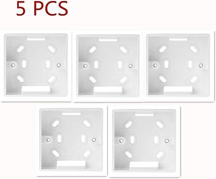 exing 5 pcs pared montierter Caja de conexión para 86 * 86 mm Para ...