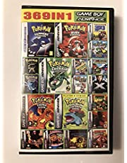 369 in 1 Game Boy Advance Game Cartridge w/Battery Save
