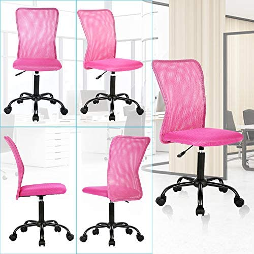 Ergonomic Desk Chair Mid Back Mesh Chair Height Adjustable Office Chair