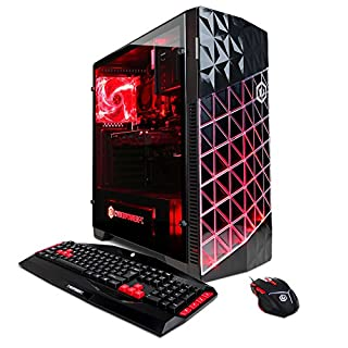 CYBERPOWERPC Gamer Ultra GUA882 Gaming Desktop - AMD FX-6300 3.5GHz, 8GB DDR3, 1TB HDD, 24X DVD, AMD R7 240 2GB, Win10 Home