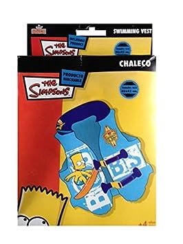 Los Simpson - Chaleco Hinchable (Saica Toys 6243): Amazon.es ...