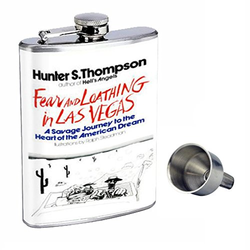 今季一番 Hunter S Thompson Fear And Funnel Loathing Loathing Perfection inスタイル8オンスステンレススチールWhiskey B015QLFMA0 Flask with Free Funnel d-076 B015QLFMA0, ツベツチョウ:7e9e92cb --- adornedu.com