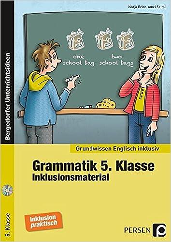 Grammatik 5. Klasse - Inklusionsmaterial Englisch Grundwissen ...