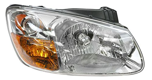 Headlight Headlamp Right Passenger Side RH For 07-08 Kia Spectra LX EX Sedan