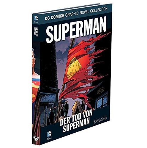DC Graphic Novel Collection #18: Superman - Der Tod von Superman (2015, Eaglemoss) Gebundenes Buch – 1972 Untersch. Autoren Panini Verlag B017BZQD02 Belletristik - Comic