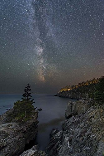 Stars Over Quoddy Channel by Michael Blanchette Photography Art Print, 9 x 14 inches
