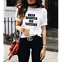Blusa Playera Camiseta Dama Future Is Female Lv Elite #504