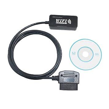 WiFi OBD2 ELM327 coche lector de código de