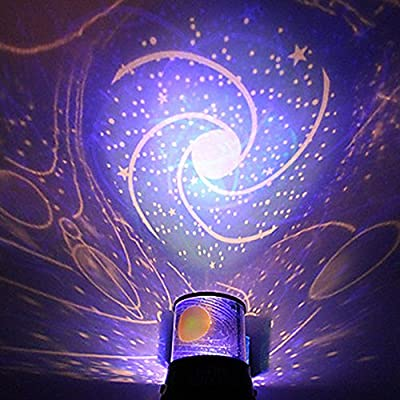 Night Light DIY Romantic Galaxy Simulator Starry Sky Projector Night Light for Celebrate Christmas Festival Creative Gifts