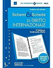 Schemi & schede di diritto internazionale