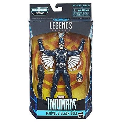 Marvel 6-inch Legends Series Marvel's Black Bolt from Hasbro
