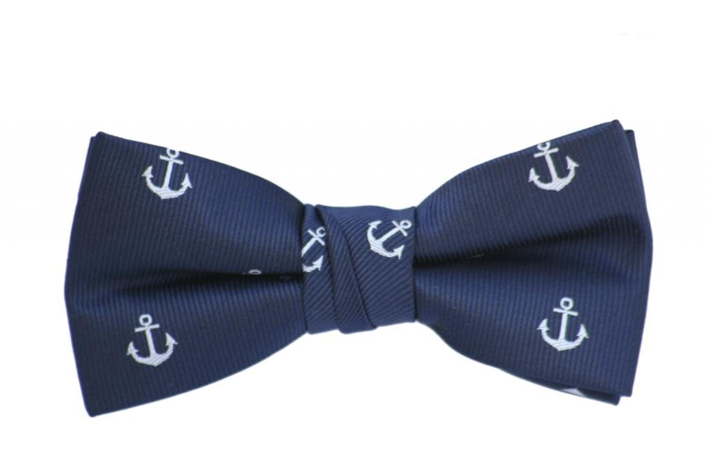 Born to Love - Boys Kids Pre Tied Adjustable Bowtie Easter Holiday Party Dress Up Bow Tie 4 Inches Anchor Kids Bow Tie