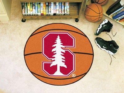Stanford Basketball Mat 27 Diameter - Licensed Stanford Cardinal (Stanford Basketball Rugs)