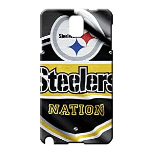 samsung note 3 Hybrid Back Protective Cases phone carrying skins pittsburgh steelers nfl football