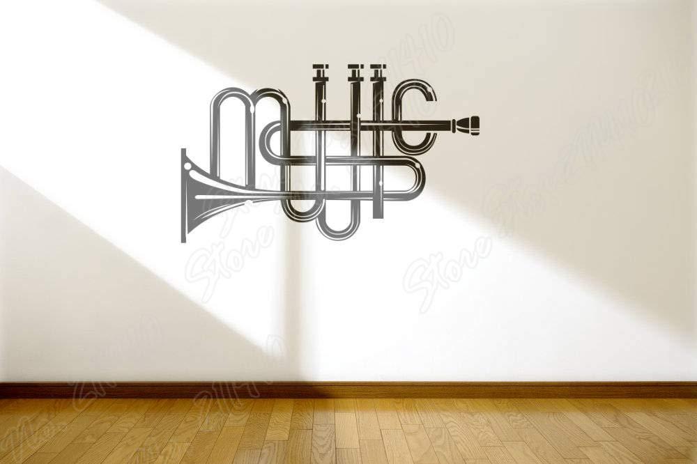 hllhpc Música Instrumento de tipografía entusiastas de la música ...